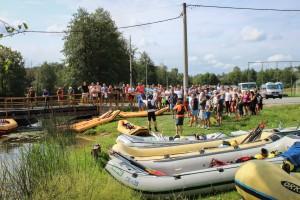 Rafting, kayak